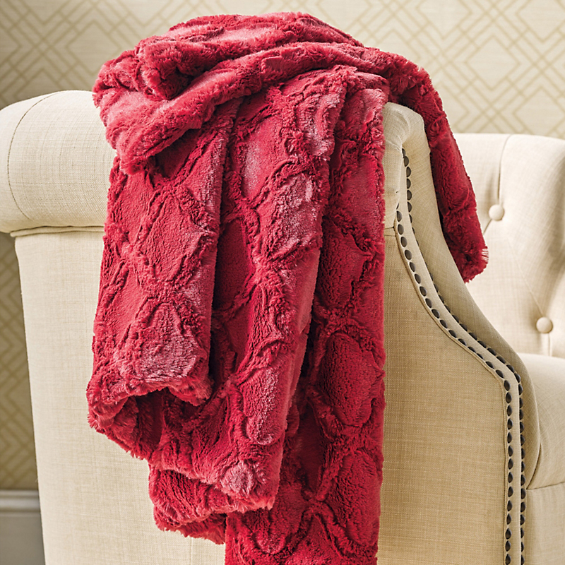 Lombard Plush Throw