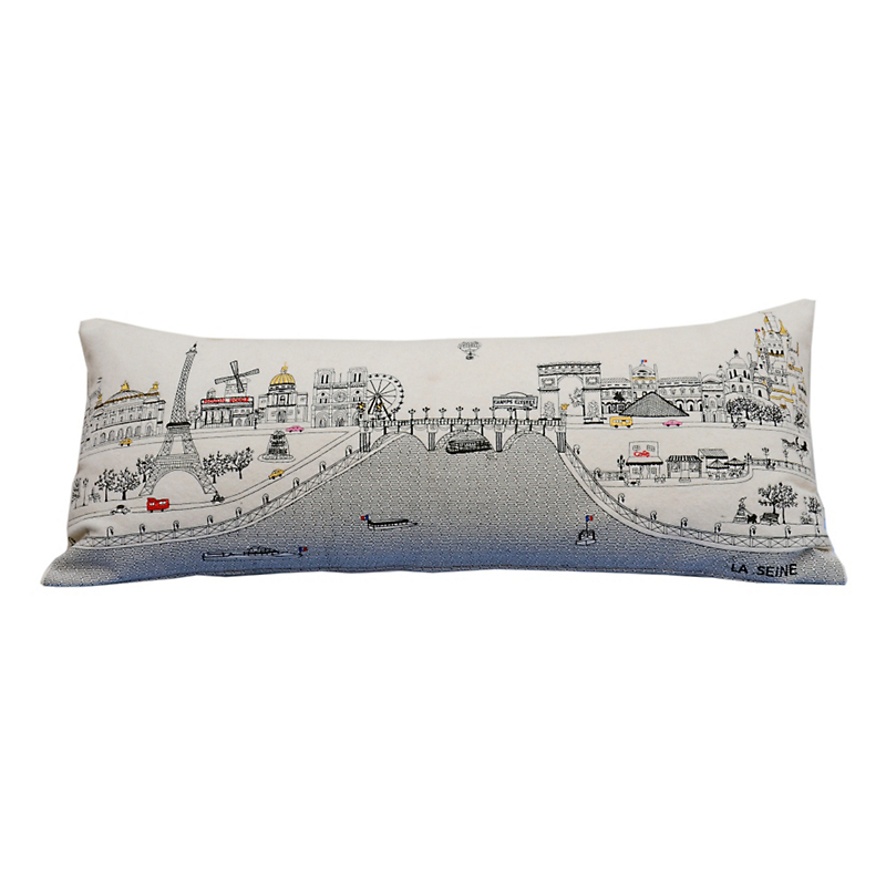 Paris Skyline Pillow