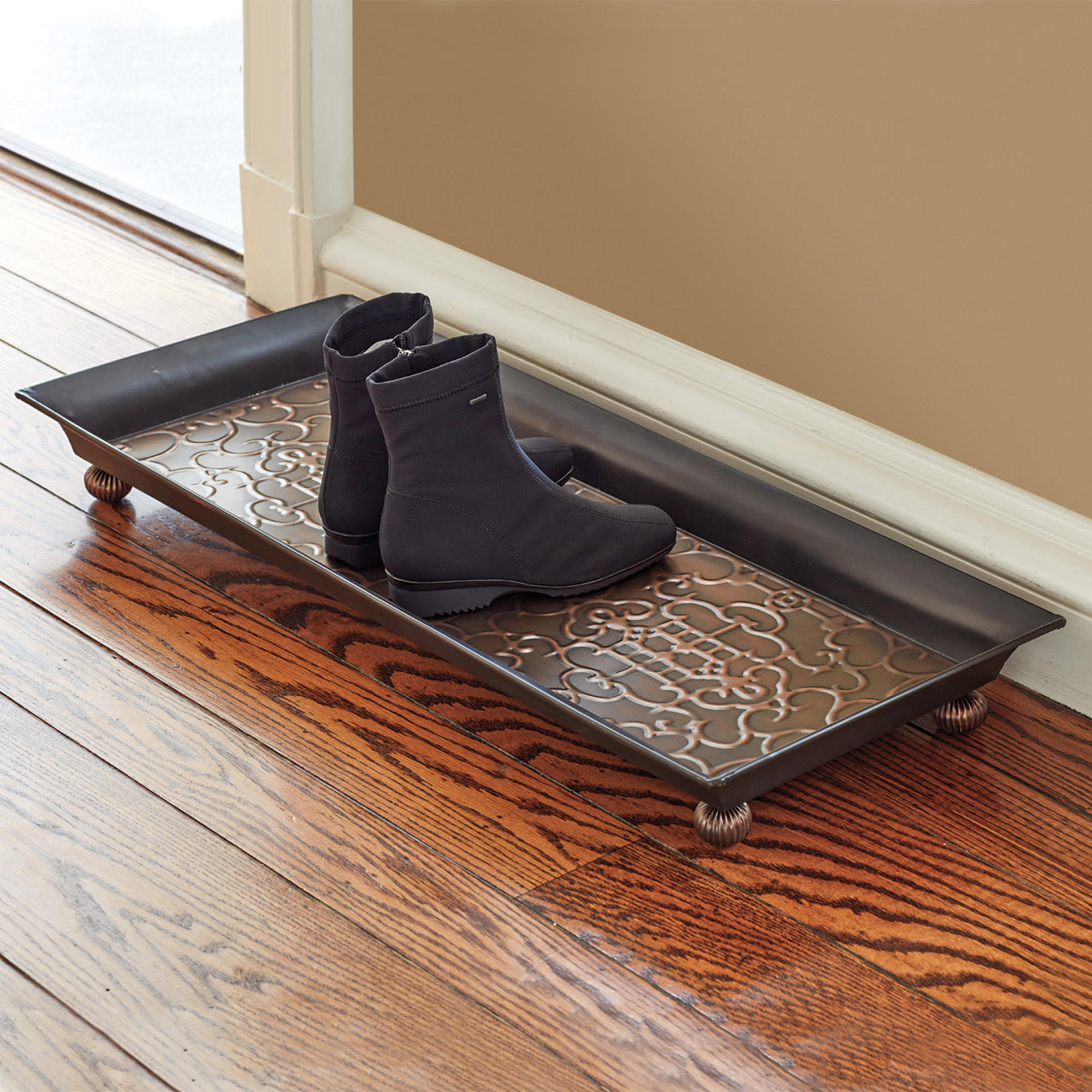Fretwork Boot Tray