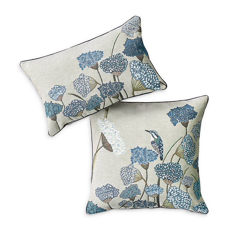 Le Jardin Bleu Tapestry Pillows