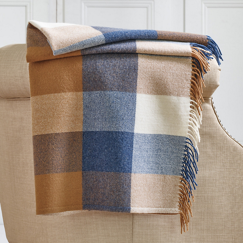 Robinson Plaid Throw
