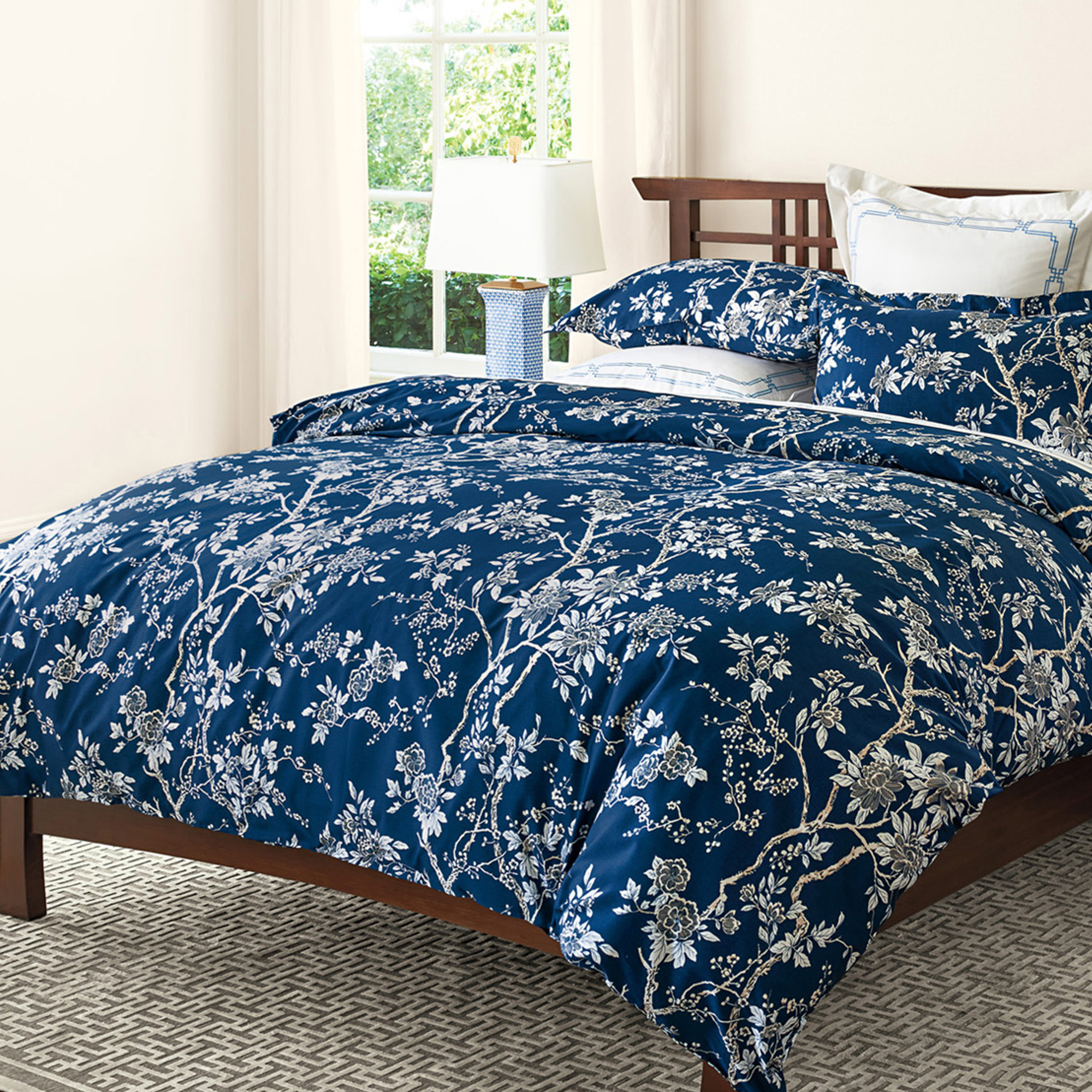 Indigo Chinoiserie Bedding