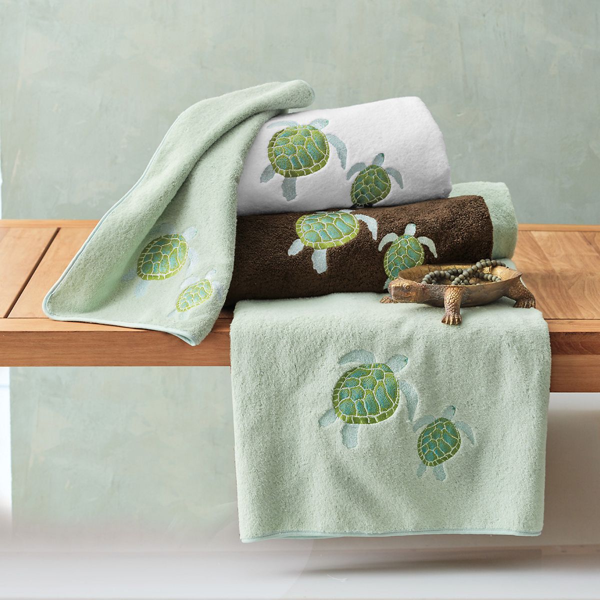 Pacific Sea Turtle Towels