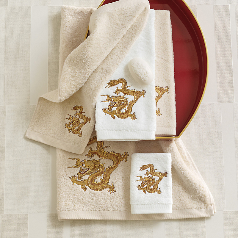 Golden Dragon Towels