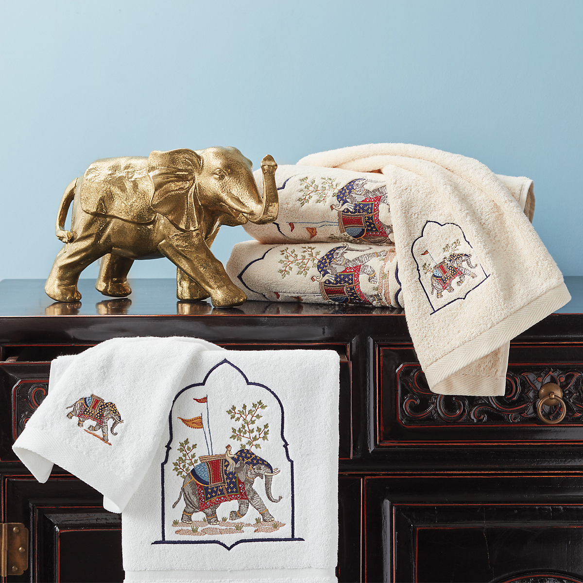 Imperial Elephant Towels