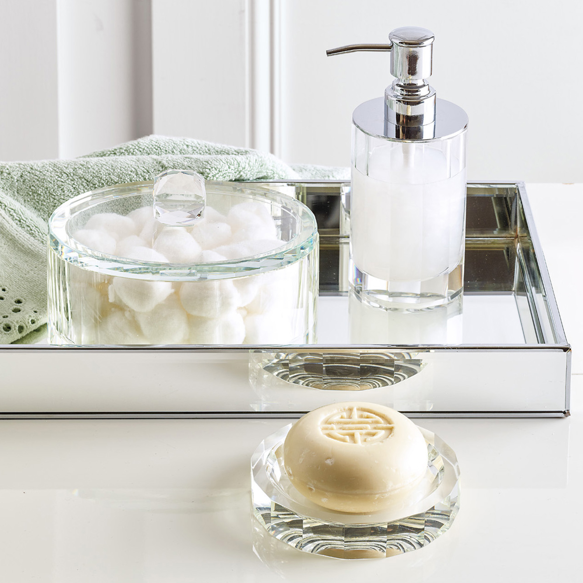 Crystal Bath Accessories