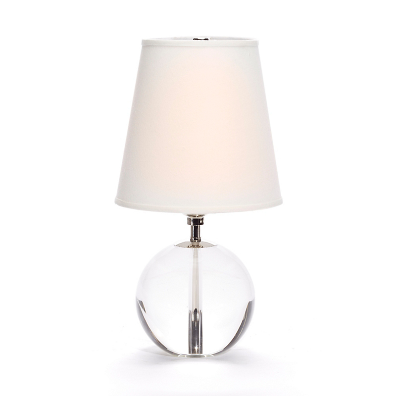 Nob Hill Crystal Lamp