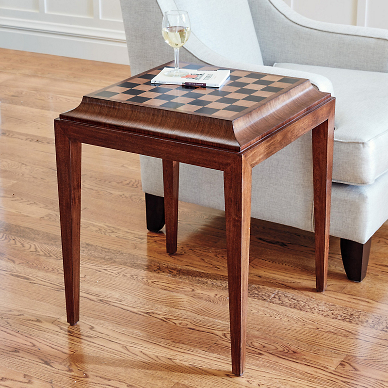 Marquetry Club Table