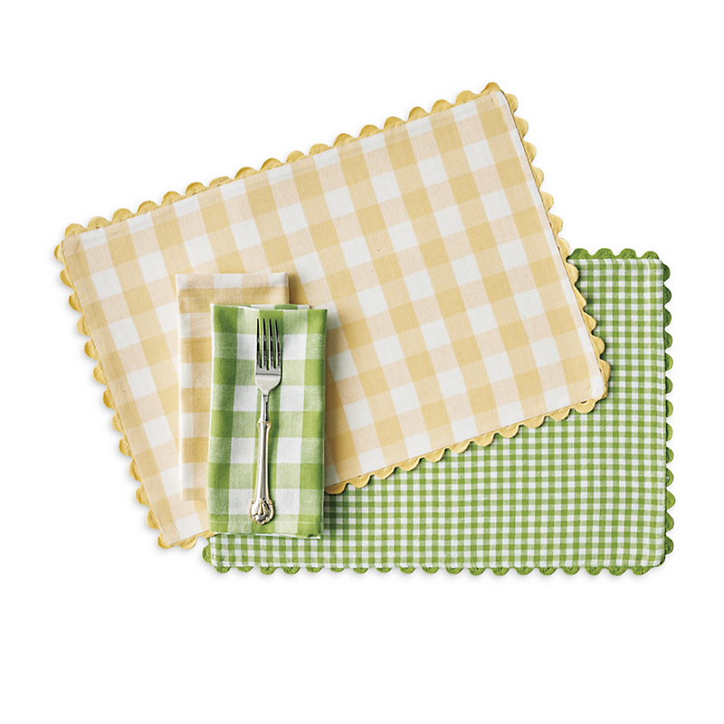 Bistro Gingham Table Linens