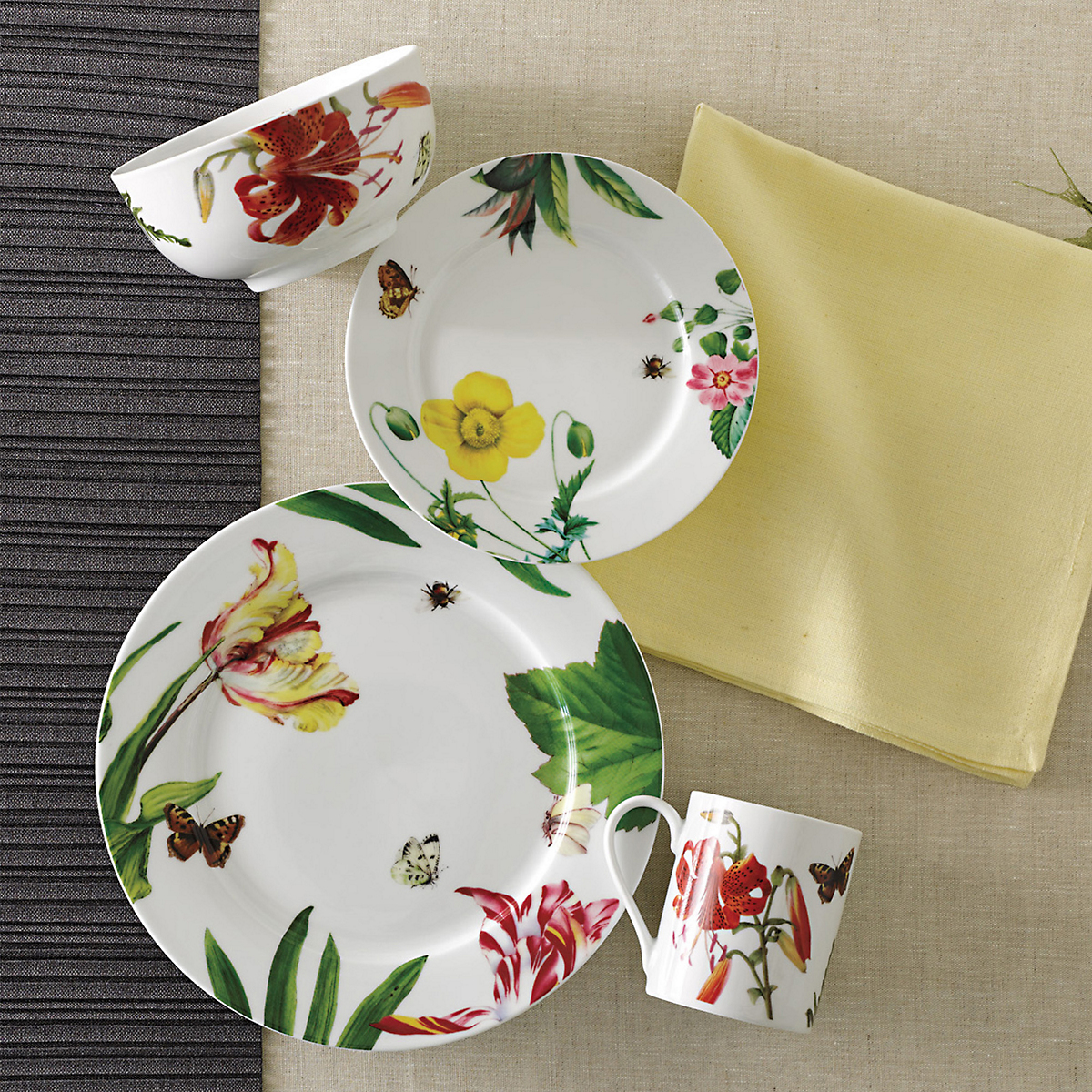 Floral Haven Dinnerware