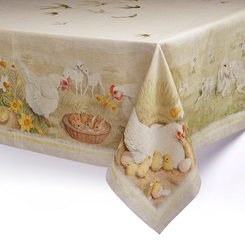 Italian Springtime Tablecloth
