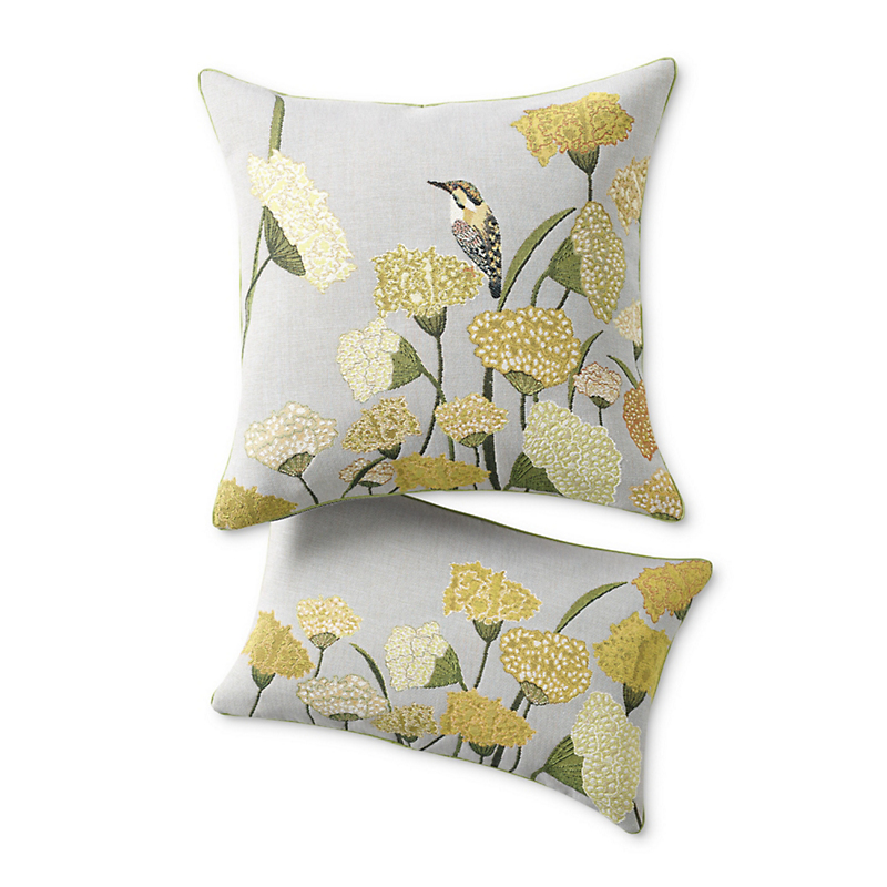 Le Beau Jardin Tapestry Pillows