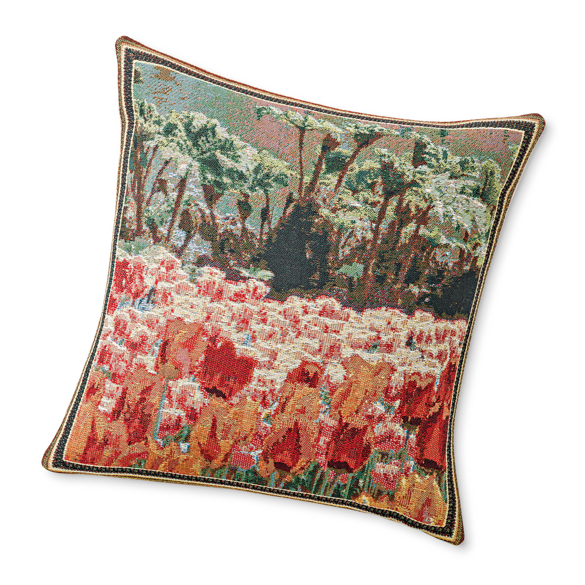 Dutch Field Of Tulips Pillow