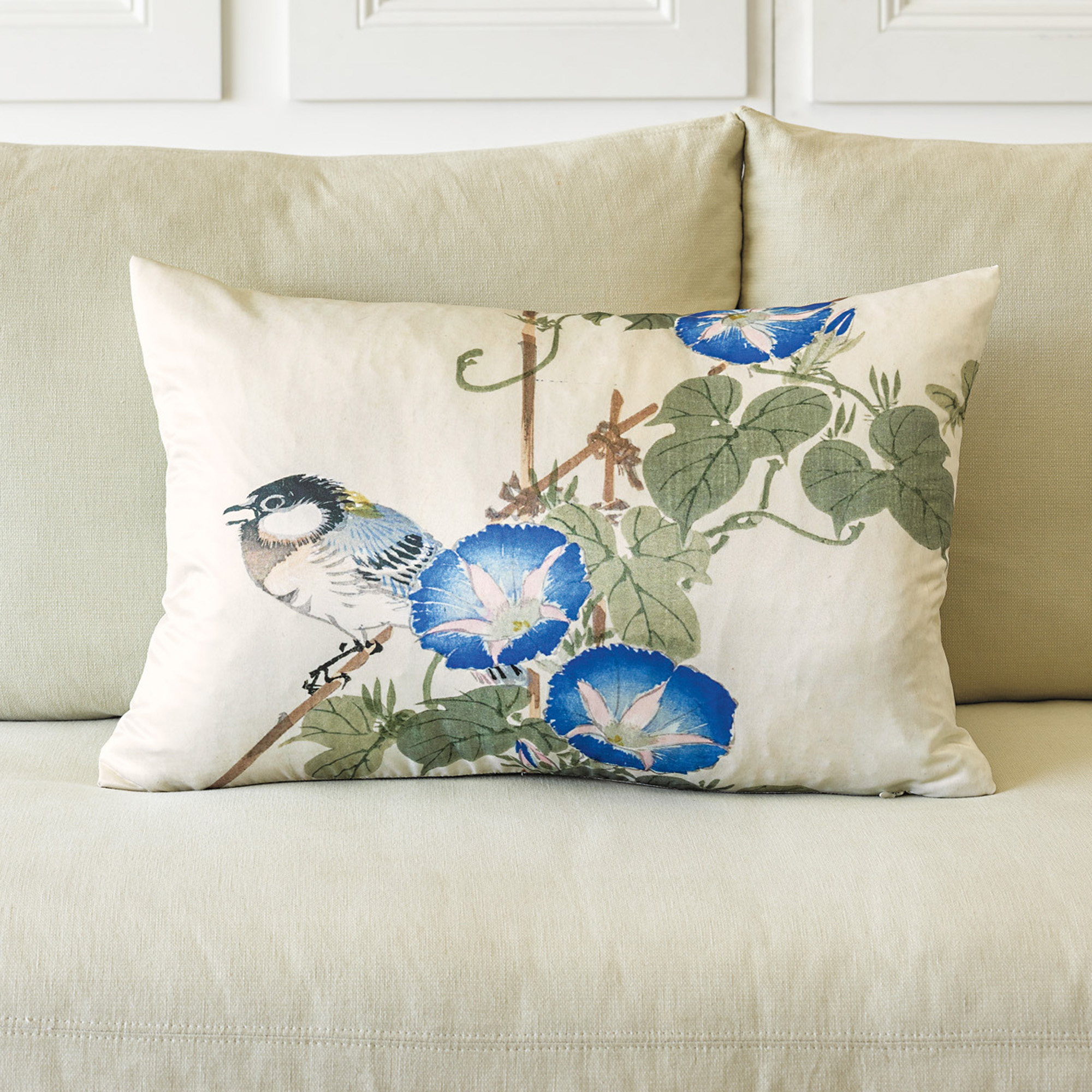 Throw Pillows Home : Morning Glory Pillow Gump s