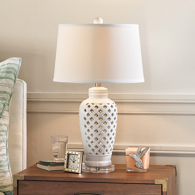 Piper Lattice Lamp