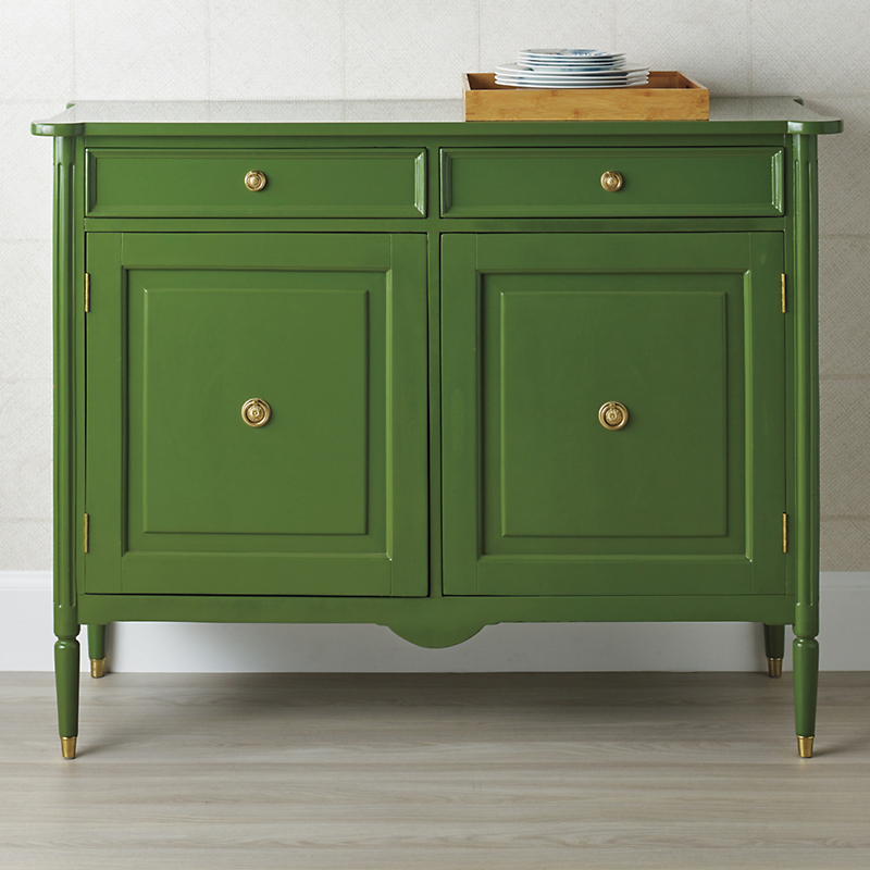 Kilkenny Lacquered Chest, Green