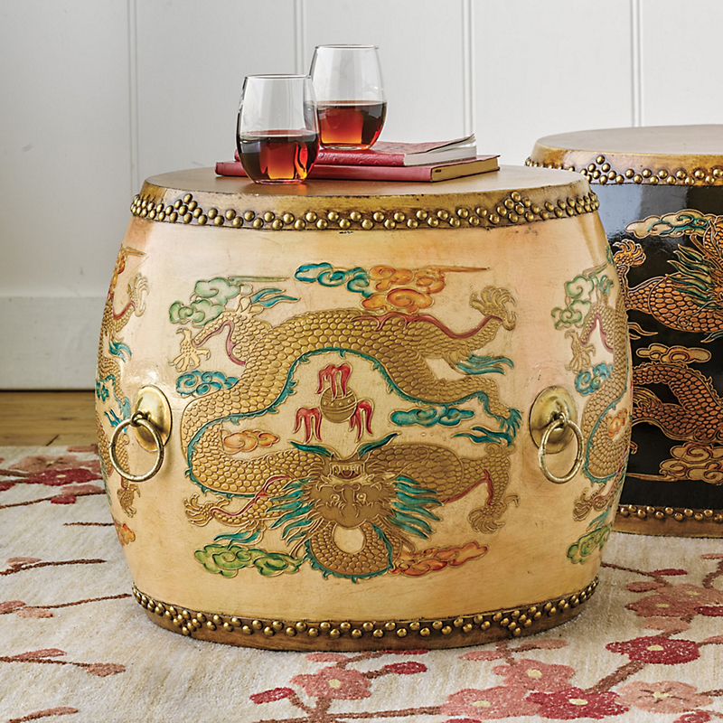 Ceremonial Drum Table, Camel