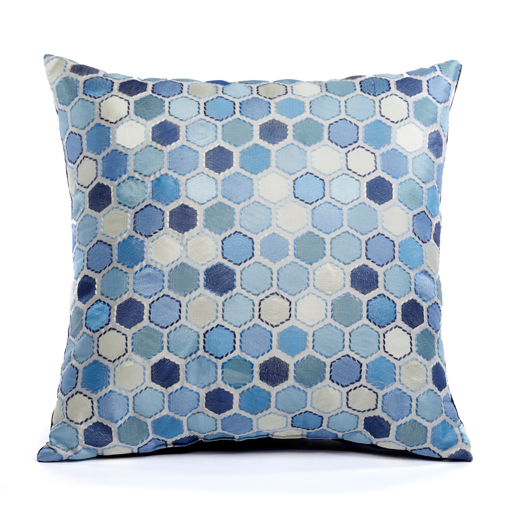 Dots Pillow, Blue