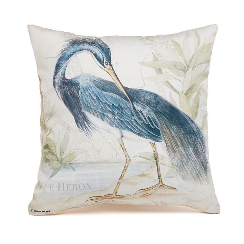 Blue Heron Indoor/Outdoor Pillows