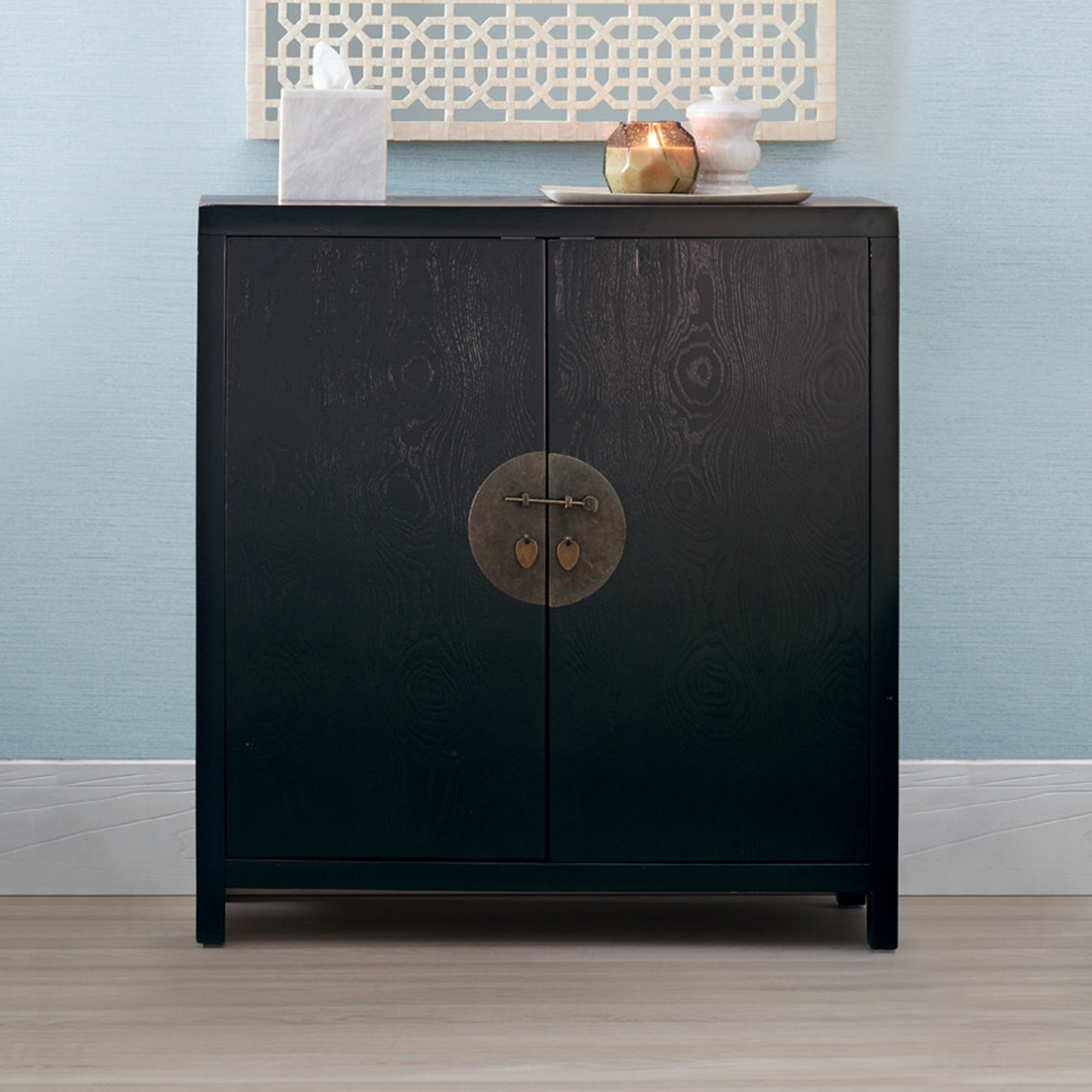 Ross Lacquer Entry Cabinet