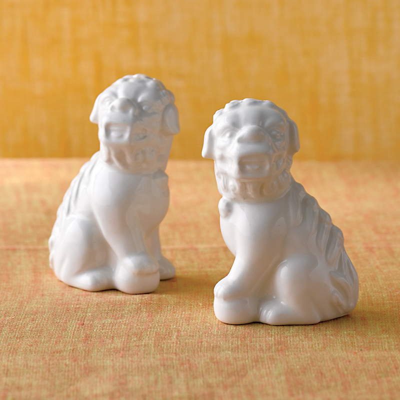 Foo Dogs Salt & Pepper Shakers