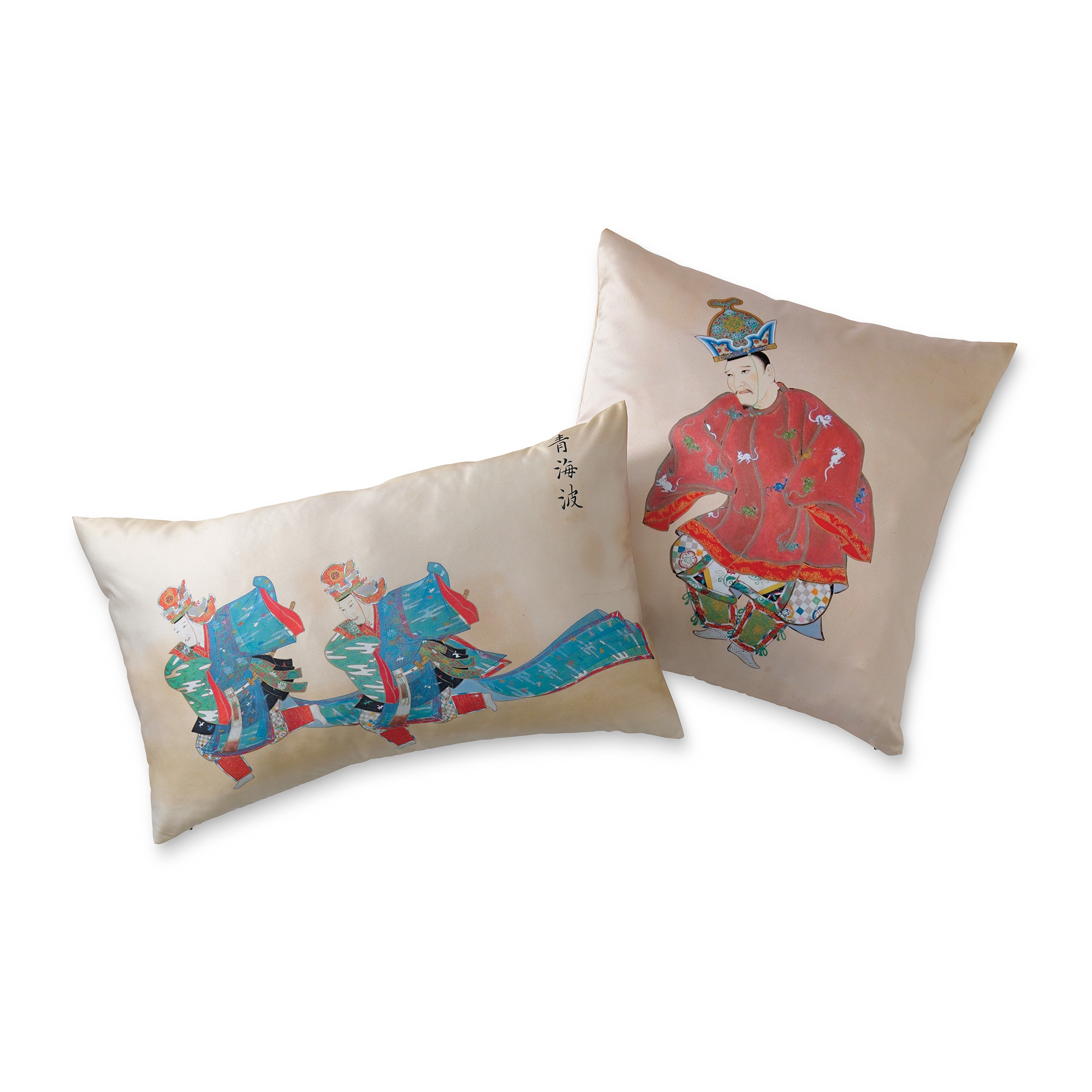 Imperial Court Edo Pillows