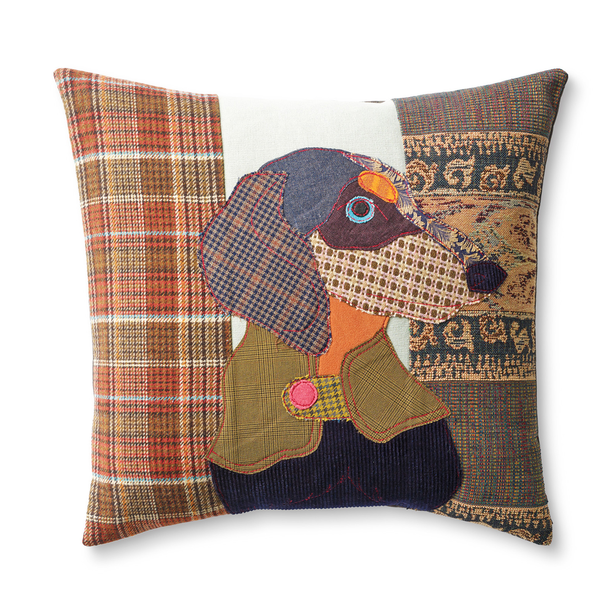 Franz The Dachshund Dog Day Afternoon Pillow