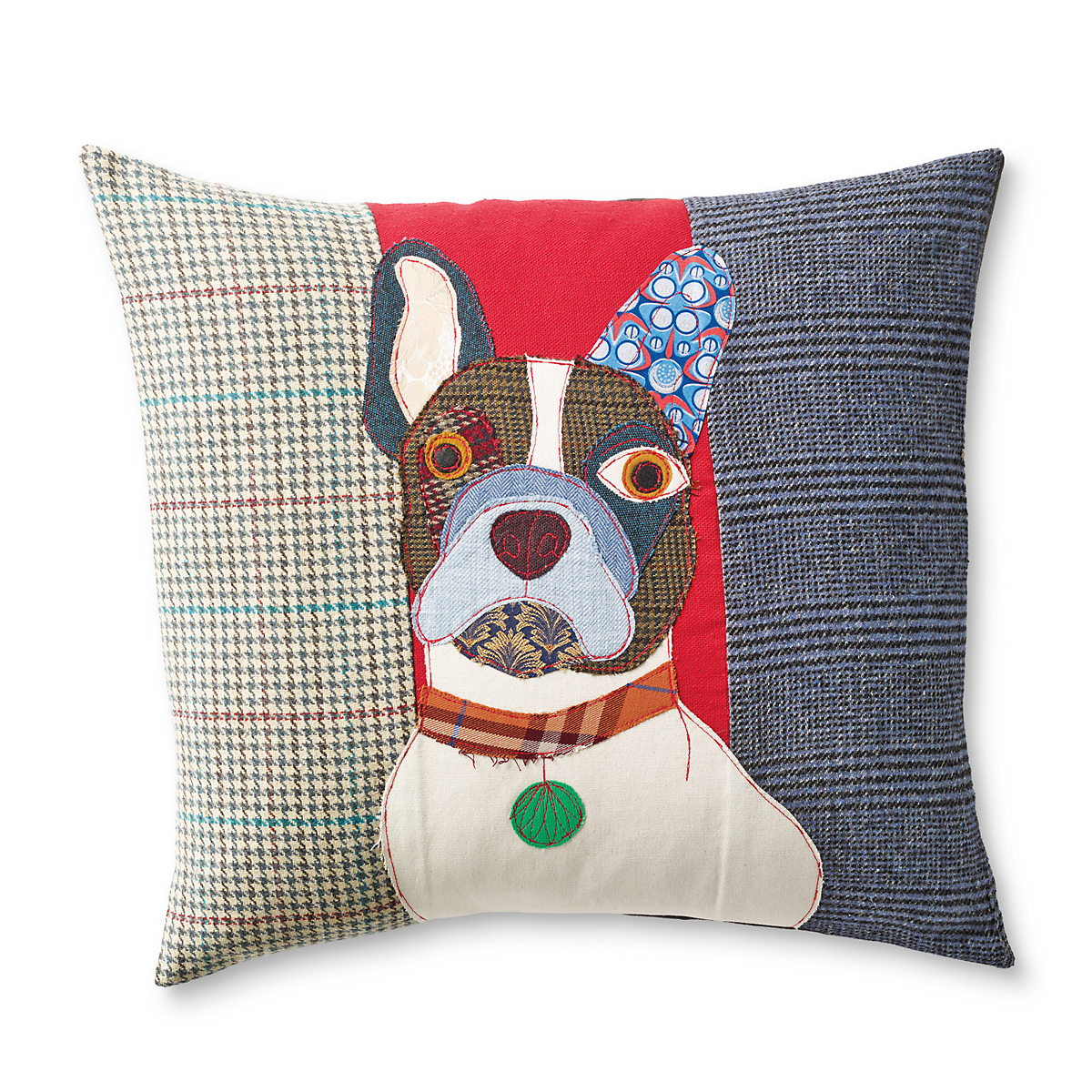 Pierre The French Bulldog Dog Day Afternoon Pillow