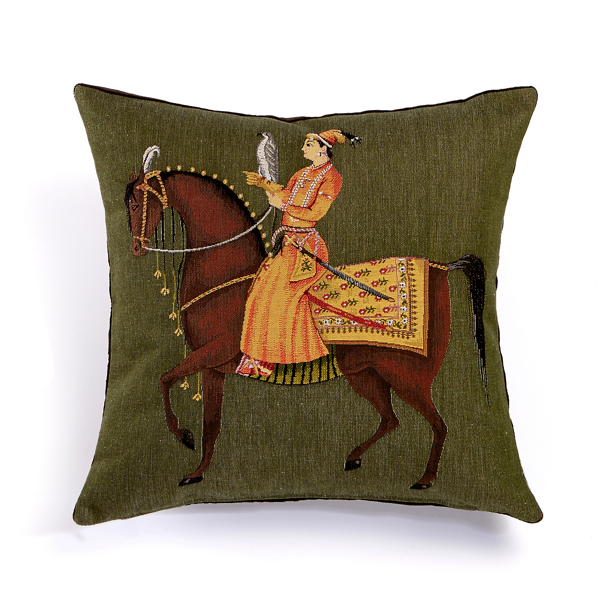 Mughal Empire Horse Pillows
