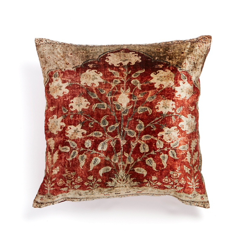 Velvet Persian Ava Rug Pillow