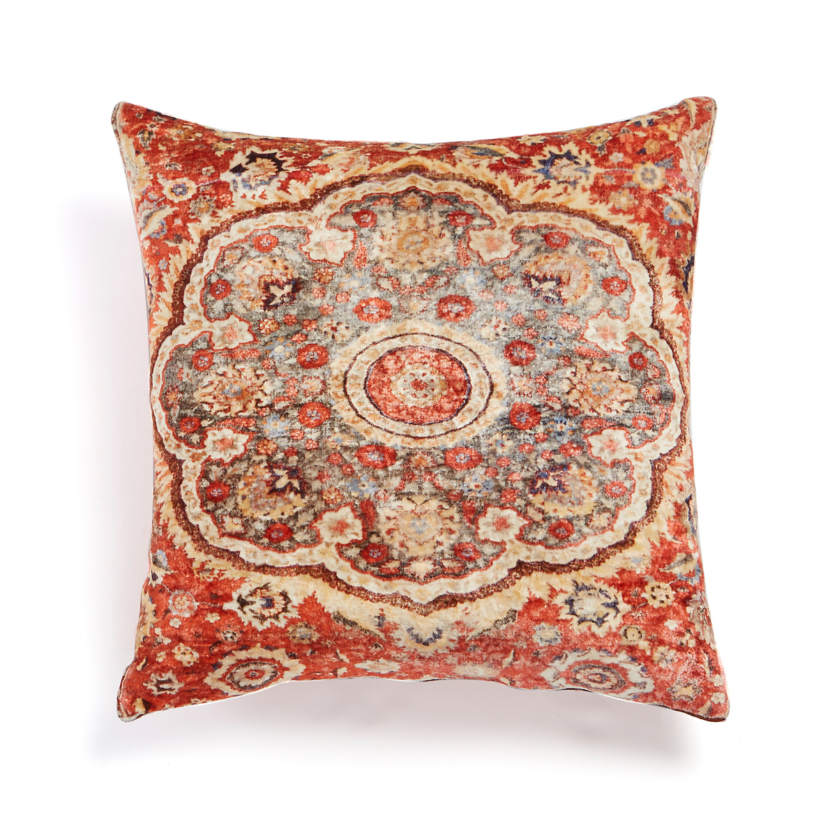 Velvet Persian Sahar Rug Pillow