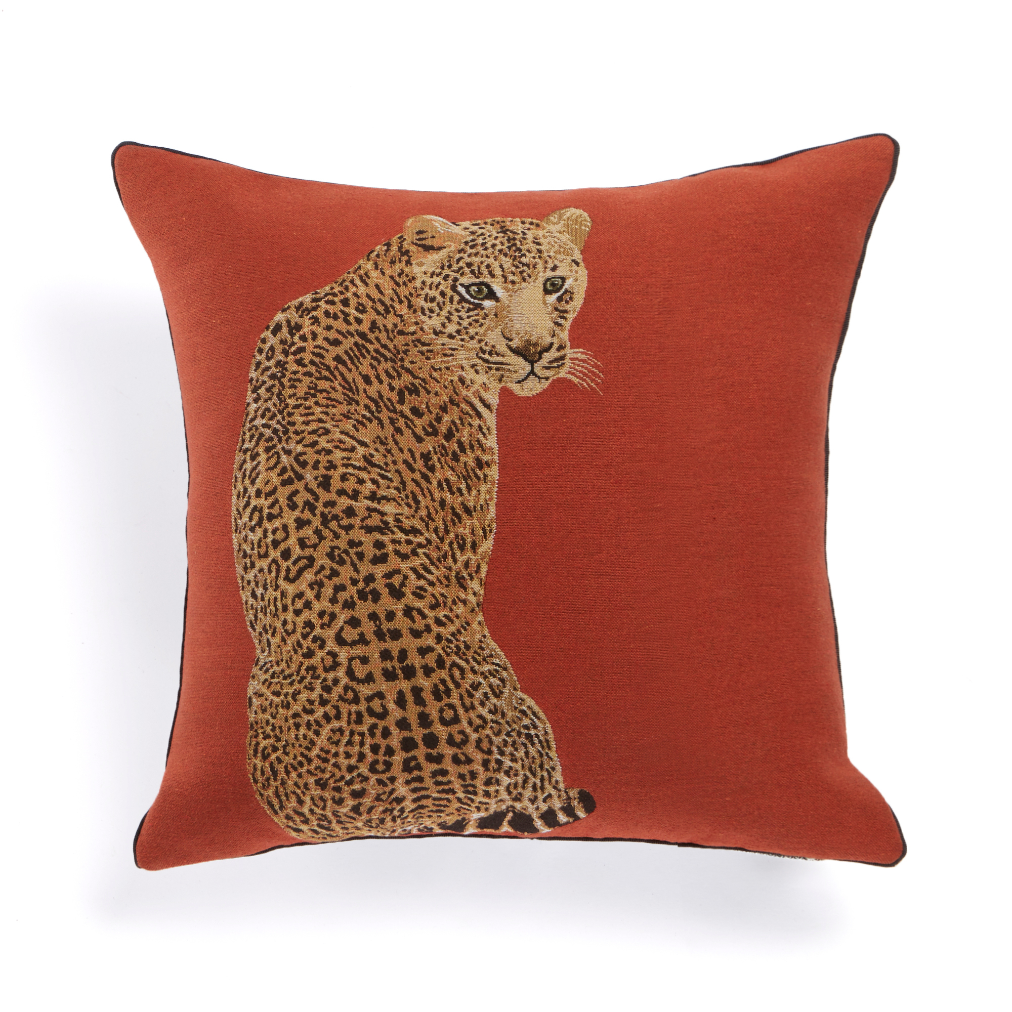 Big Cat Leopard Pillow