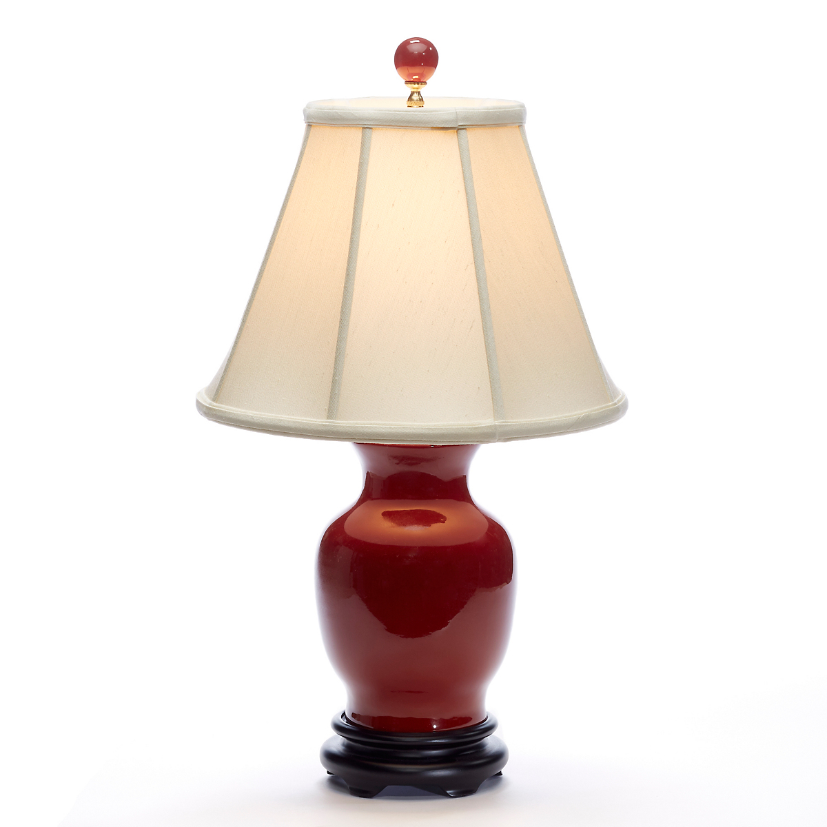 Imperial Oxblood Lamp