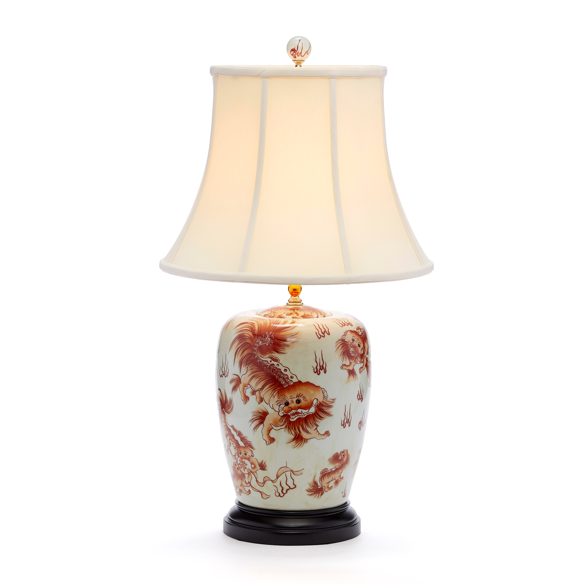 Imperial Foo Dogs Lamp
