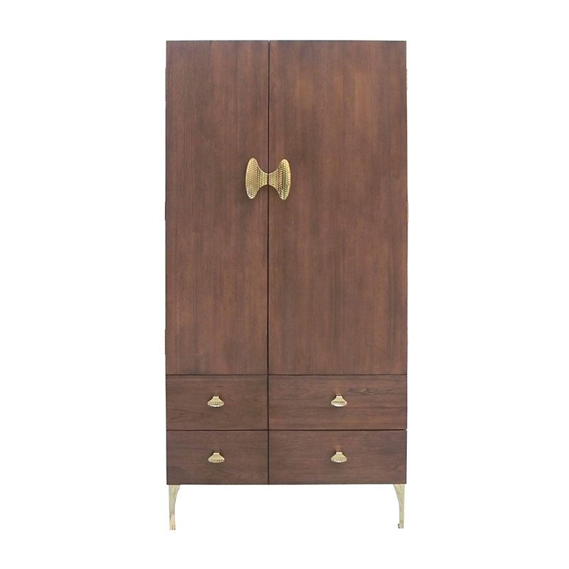 "Maria Yee Hattori 38"" Left Armoire, Pumpernickel"