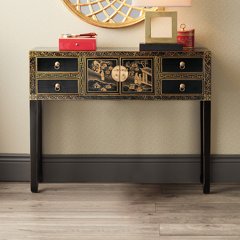 Chinoiserie Console Table
