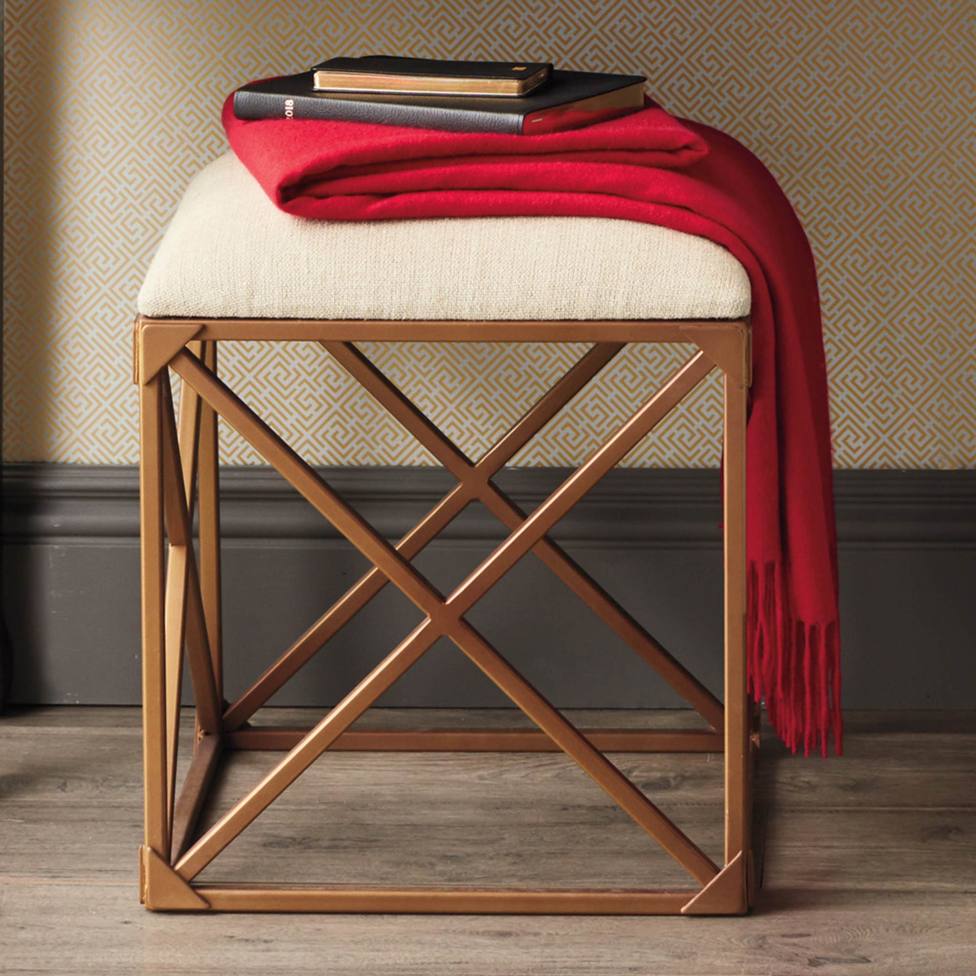 Ryder Upholstered Stool