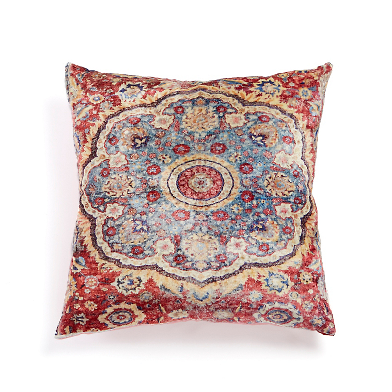 Tabriz Velvet Rug Pillow
