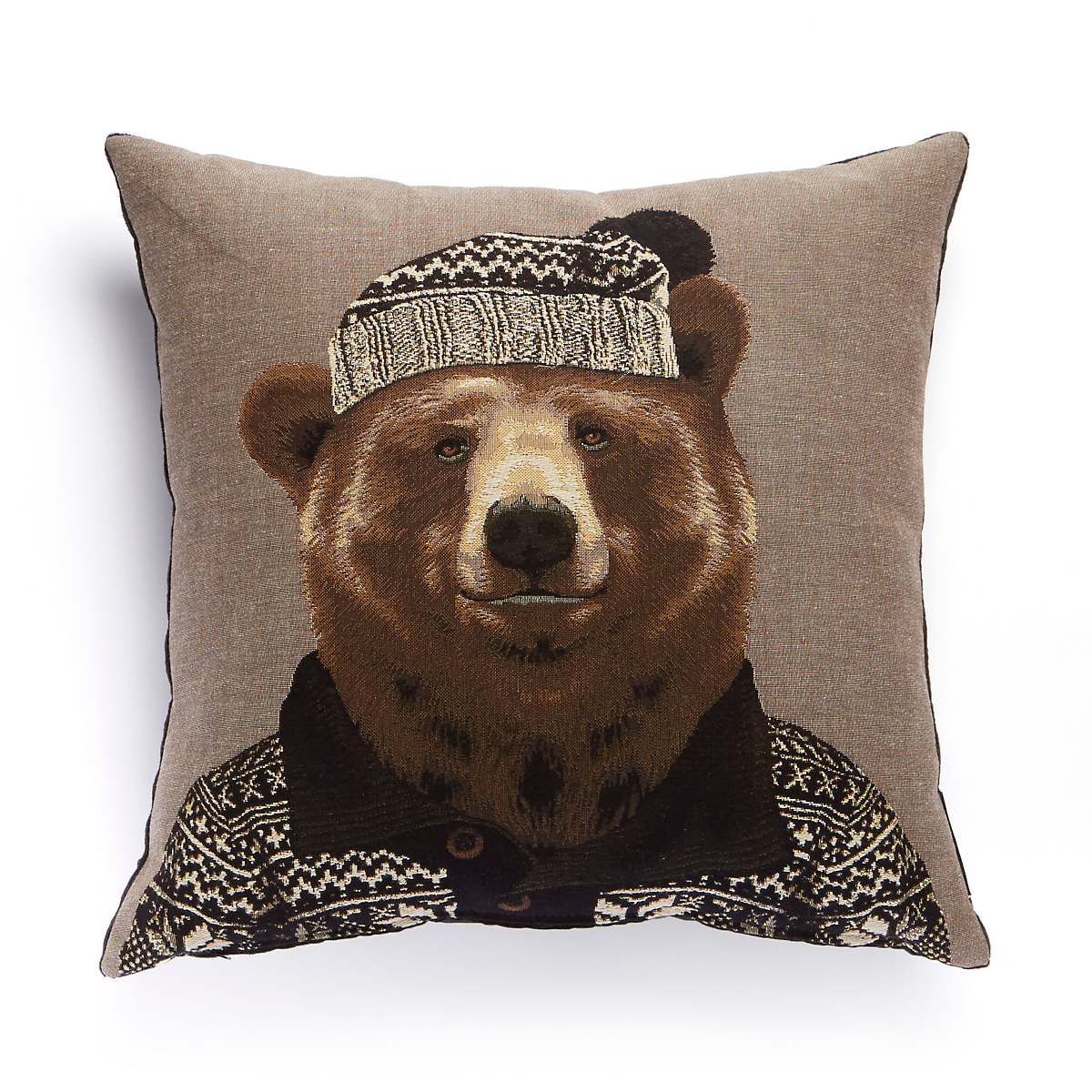 Cozy Critters Bear Pillow