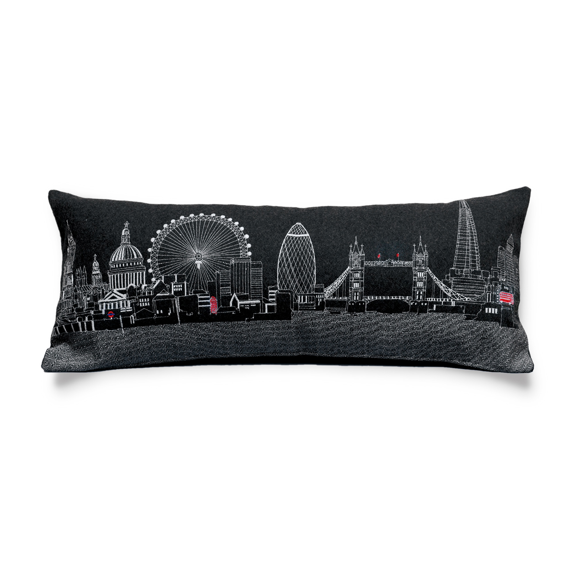 City Skyline Pillow, London