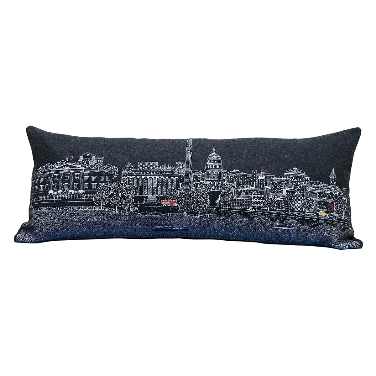 City Skyline Pillow, Washington, D.C.