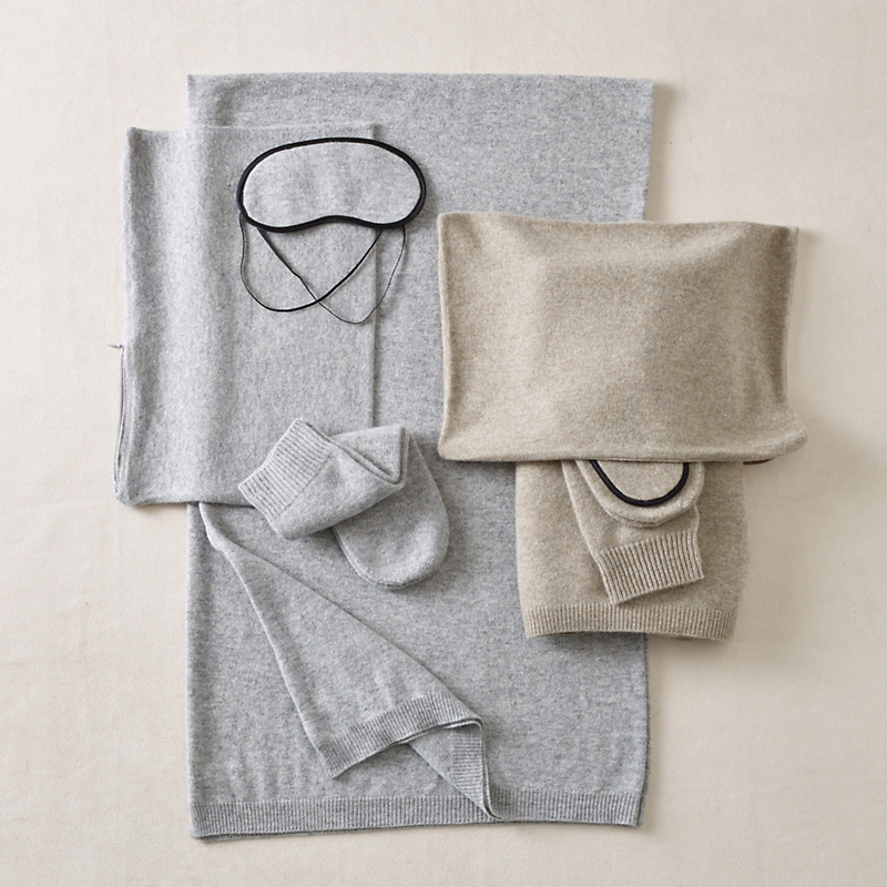 Cashmere 4-Piece Travel Set