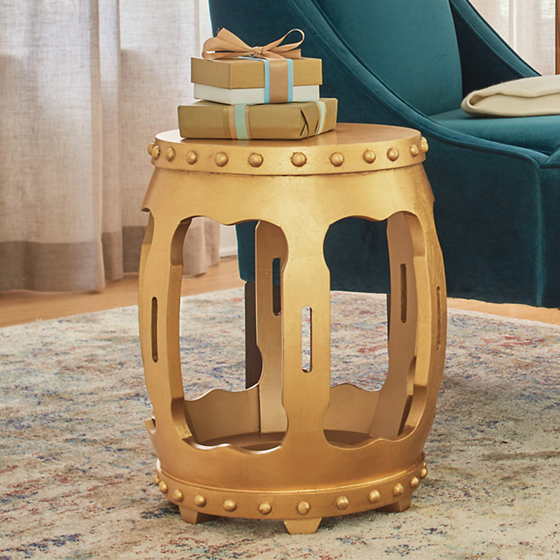 Gold Empress Side Table
