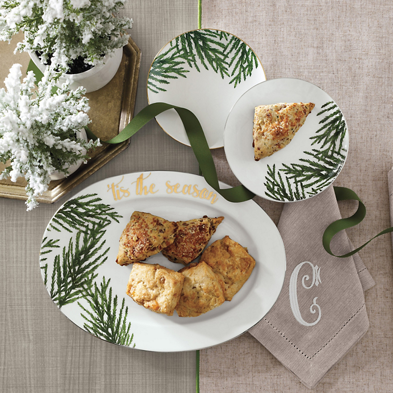 Evergreen Holiday Tableware