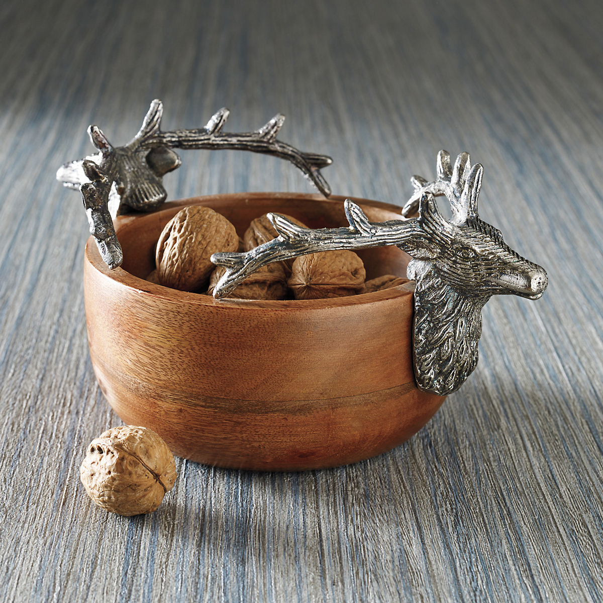 Stag Wood Bowl