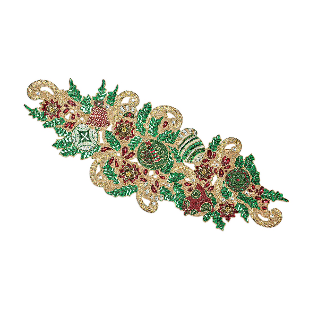 Holiday Beaded Runner
