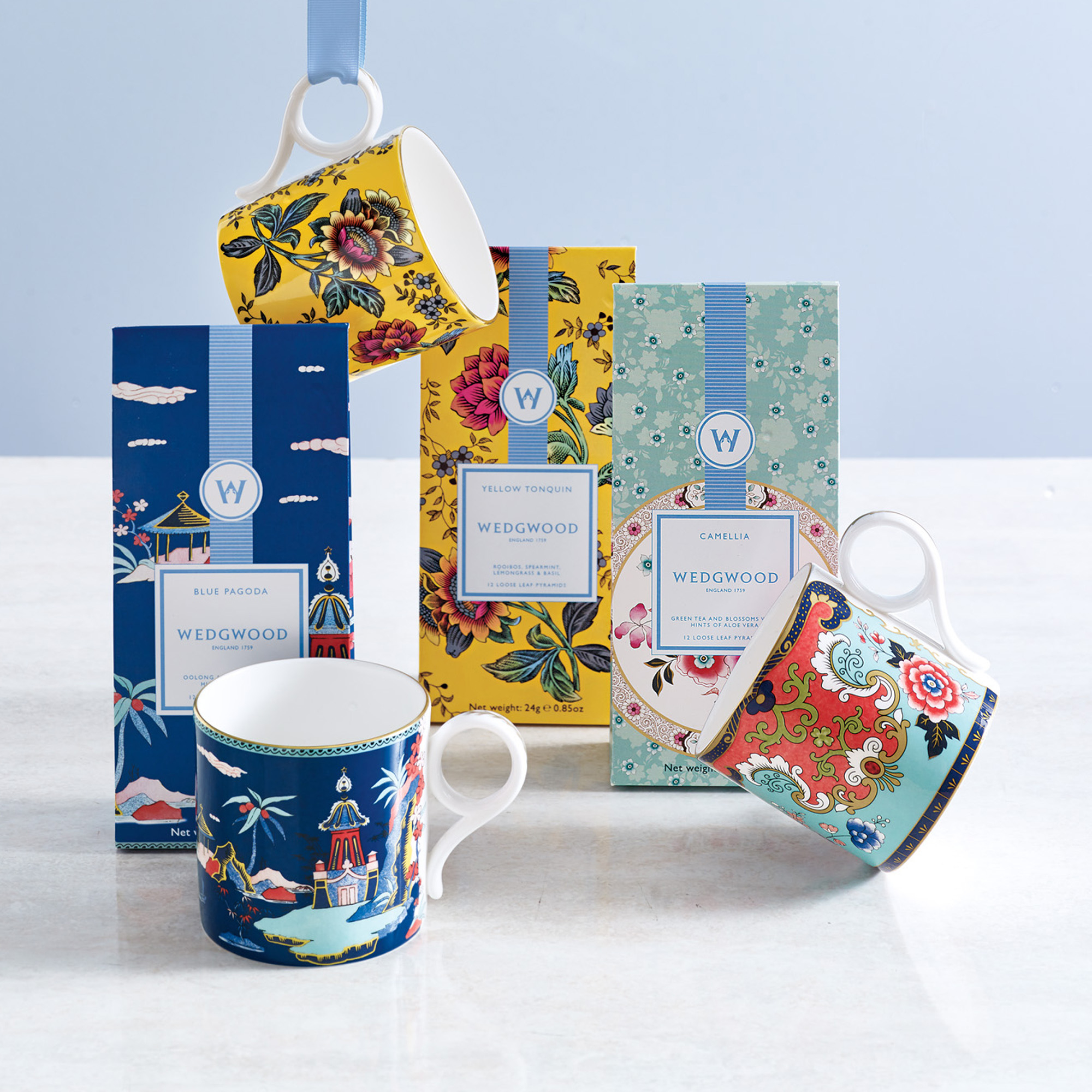 Wedgwood Wonderlust Tea Sets