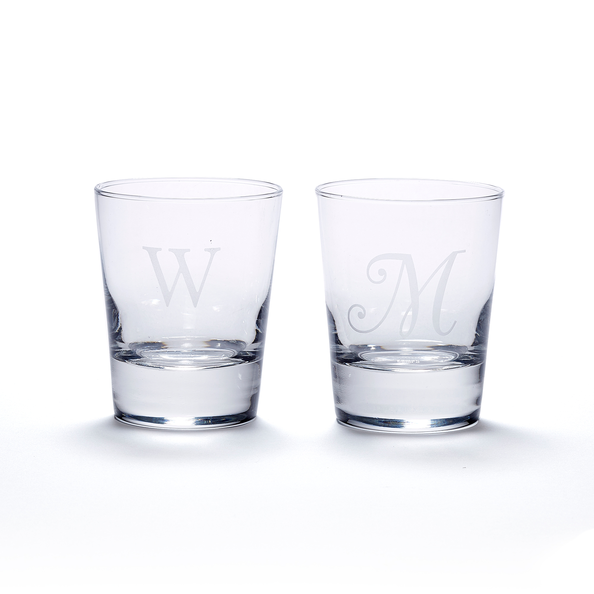 Double Old-Fashioned Glasses, Set Of 4