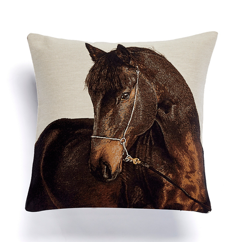 Etalon Horse Tapestry Pillow