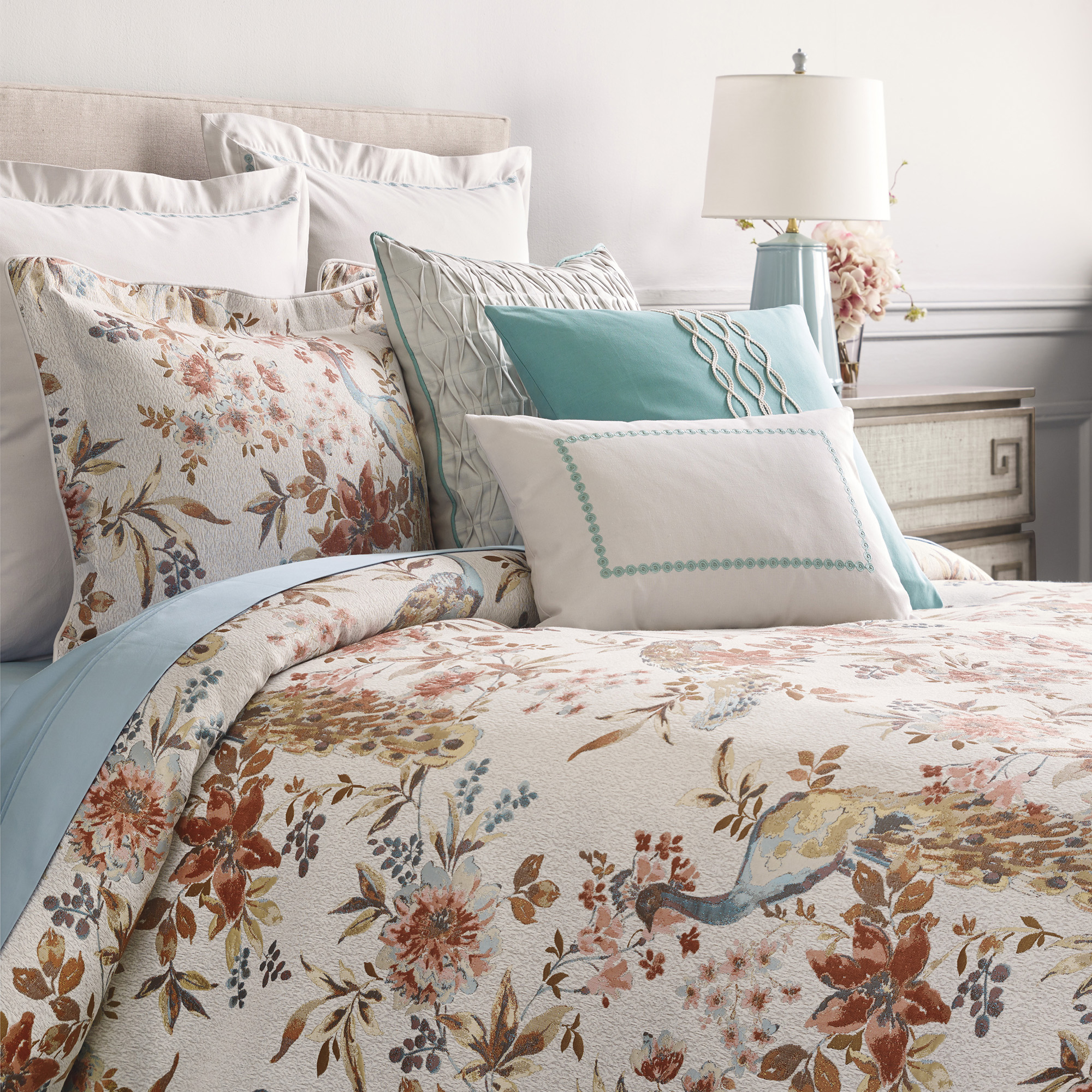 Avondale Peacock Bedding Set